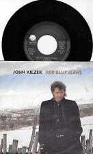 """JOHN KILZER * RED BLUE JEANS * GERMAN 7"""" SINGLE GEFFEN 927 647-7 PLAYS GREAT"""