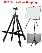 Artist Field Studio Display Painting Adjustable Tripod White Board Stand Easel Y