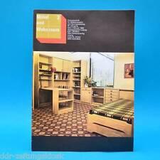 DDR Möbel und Wohnraum 2/1983 Fachzeitschrift Jugendzimmer VM Modell T 22 CSSR
