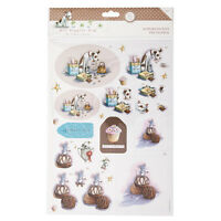 A4 Pearlescent Decoupage (2pk) - Hot Diggity Dog - Temptations