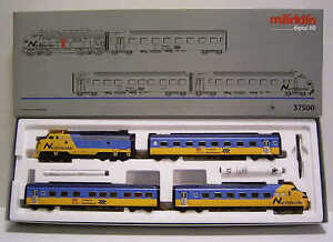 Märklin H0 37500 Diesel Railcar Northlander Locomotive Train Set Digital Sound