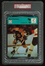 PSA 9 BOBBY ORR 1977 Sportscaster Hockey Card #01-02 ITALY
