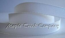 Grosgrain Ribbon 5/8 inch x 5 yards (15 feet of cut ribbon) 34 COLORS AVAILABLE