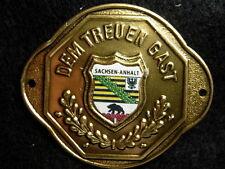 Saxony-Anhalt (Sachsen-Anhalt) new badge stocknagel hiking medallion G9860