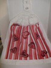 Crochet Kitchen Towel ~ St Valentine's Day ~ **Gift Idea