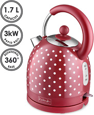 Kitchen Originals Polka Dot Electric Dome Kettle