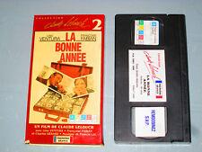 La Bonne Année (VHS)(French) Lino Ventura Francoise Fabian Testé