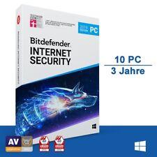 Bitdefender Internet Security 2019, 10 Geräte - 3 Jahre, Deutsch, Download