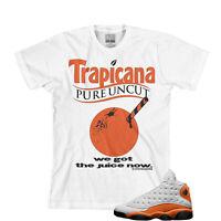 Tee to match Air Jordan Retro 13 Starfish. Trapicana Tee