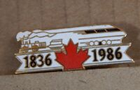 Canadian Railways 1836 -1936 150 year badge .