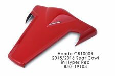 HONDA CB1000R 08-17 ERMAX HYPER RED SEAT COVER COWL FAIRING PANEL 850119103