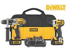 DeWALT DCK290L2 20Volt MAX Li-Ion 3.0Ah Hammer Drill & Impact Driver Combo Kit