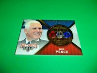 Mike Pence 2016 Leaf Decision Political Gems Card Donald Trump's Vice President