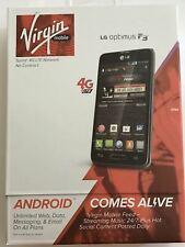 LG Optimus F3 4G LTE Mobile Phone Black | Virgin Mobile