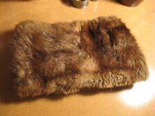 Vintage Mink? Fur Ladies brown Hand Muff
