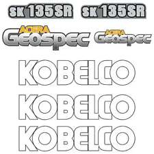 Kobelco SK135SR-2  SK135SR-2 LC Decals Stickers New Repro Decal Kit