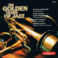 "THE GOLDEN YEARS OF JAZZ ""Volume 7"" 16 Tracks CD NEU & OVP Premium"