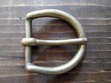 5 X Solid Brass Antique Buckle 1 1/4 inch Belt Strap Fastening