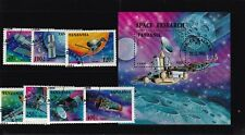 TANZANIA TOPICAL SPACE MNH SET WITH SS LOT4