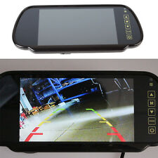 HD LCD TFT Color Screen Car Reverse Rear View Backup Camera DVD Mirror Monitor
