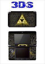SKIN STICKER AUTOCOLLANT DECO POUR NINTENDO 3DS REF 172 ZELDA