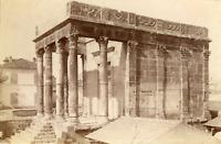 ND, Algérie, Tébessa, Temple de Minerve  Vintage albumen print. Vintage Algeria
