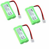 3-Pack HQRP Battery for VTech DS6121-2 DS6121-3 DS6121-4 DS6121-5 Phone