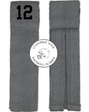 Player Number Football Towel Gray Black Number Quarterback Running Back Qb Rb