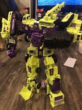 Transformers Devastator Combiner Wars Constructicons Cw Pc-06 Perfect Combiner