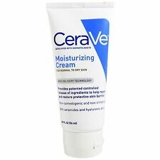 LOT OF 2 CeraVe Moisturizing Cream 1.89 oz