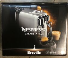 Breville Nespresso Creatista Plus Single Serve Capsule Espresso Machine