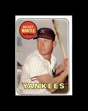 1969 TOPPS #500 MICKEY MANTLE YANKEES NM+ to NM-MT