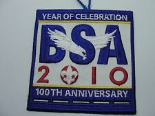 BSA VINTAGE 2010 - 100TH YEAR OF CELEBRATION  ANNIVERSARY PATCH