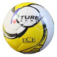 TURBO SPORT EDS-101 FUTSAL BALL (INDOOR SOCCER) OFFICIAL SIZE 4 PU LEATHER + EVA