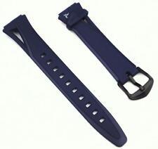 Cinturino Casio Originale Caucciù Blu Ansa 16 Mm. Modello STR-300C-2 STR-300-2