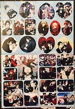 Kuroshitsuji Black Butler-CIEL SEBASTIAN ALOIS CLAUDE 4 Sticker Sheets #K8