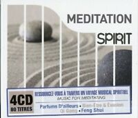 SPIRIT OF MEDITATION 4 CD NEW!