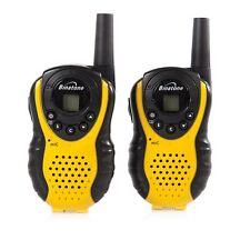 Binatone Latitude 100 Twin Walkie Talkie Black/yellow Upto 3 Km Range Hiking