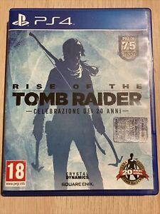 RISE OF THE TOMB RAIDER - CELEBRAZIONE DEI 20 ANNI - PS4 - PLAYSTATION 4