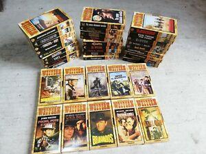 Lotto 38 Vhs I Capolavori Del Cinema western serie Completa
