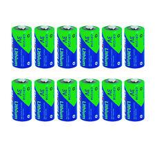 12PCS 123A CR123A 3 Volt Lithium Battery for Surefire Fenix Flash Light