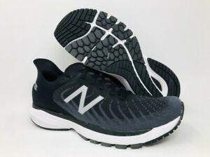 New Balance Men's 860 v11 Running Shoes, Black/White, 10 B(N) US
