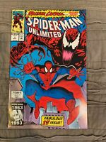 Spider-Man Unlimited 1 NM Maximum Carnage Begins 1993 Marvel comics