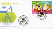 United Nations UN Geneva 2017 FDC World Food Day 2v Set Cover Gastronomy Stamps
