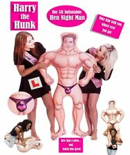 HARRY The HUNK 5 ft inflatable blow up doll MAN Hen Stag Night Party Bride to be