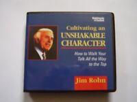 Cultivating an Unshakable Character: Jim Rohn - Audiobook - 7CDS