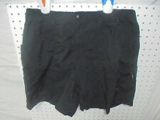 Columbia Hiking Shorts Women's Black Nylon Packable Sz M