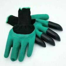 GARDENING GLOVES PLASTIC CLAWS DIY HOME GARDEN DIGGING OUTDOOR GLOVES