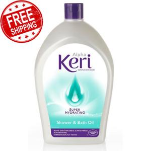 Alpha Keri Super Hydrating Bath & Shower Dermatologist Formula Oil 1 Liter
