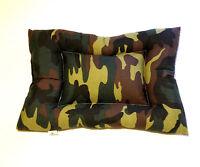 Letto per cane cuscino Cuccia coperta per animali lettino Camouflage Mimetico